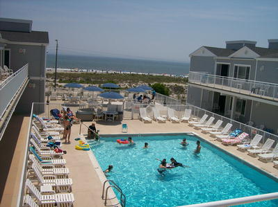 1670 Boardwalk Unit #21 , 2nd fl/heated pool, Ocean City NJ
